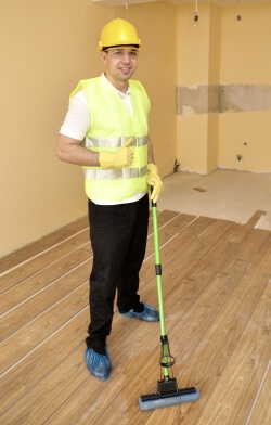 Expert after builders cleaning