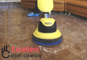 Insured hard floor cleaning